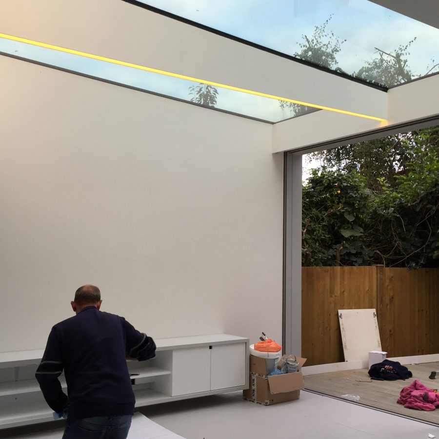 South London House Nears Completion