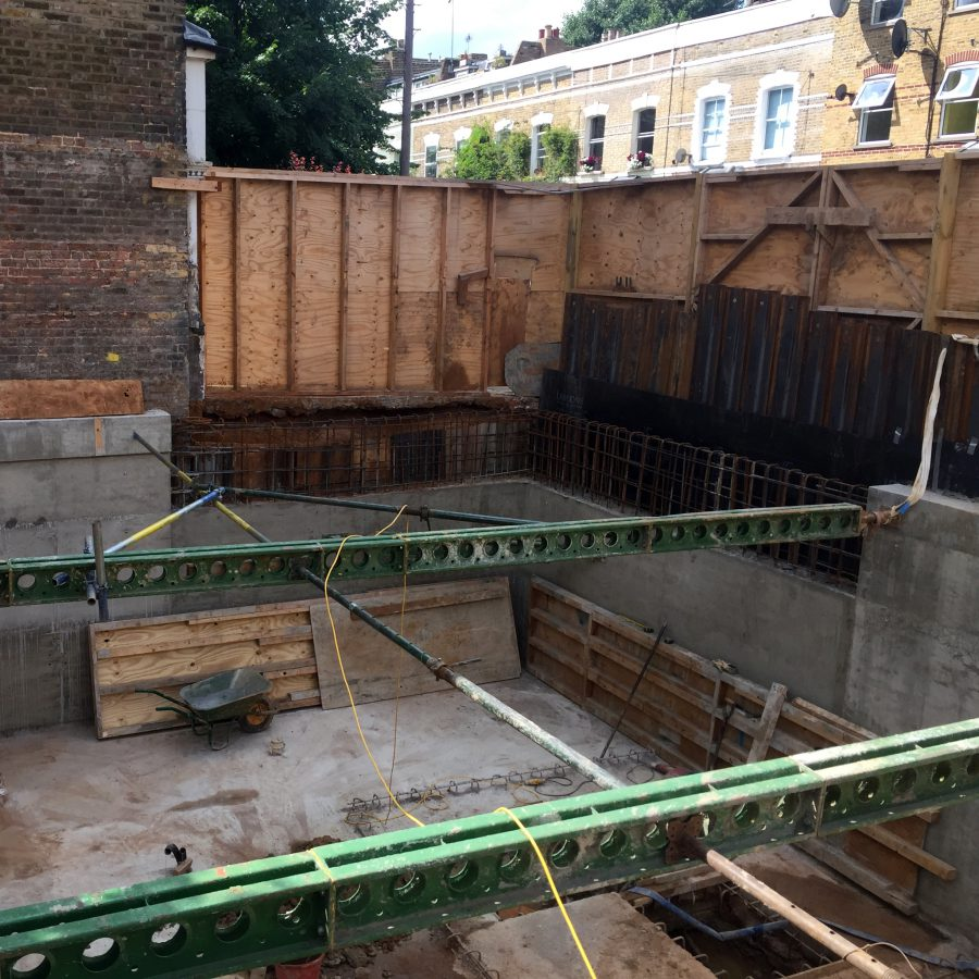 Stoke Newington Basement Progress