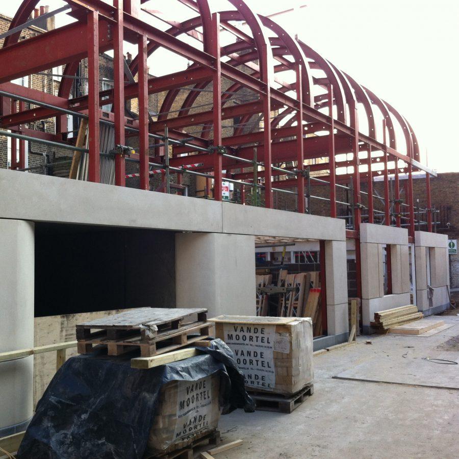 Knightsbridge Site Progress